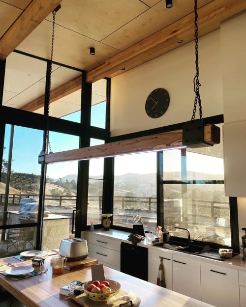 Pendants by Little Anvil seen at Private Residence, Melbourne - Beam Light No.2