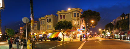 Haight St, Western Addition