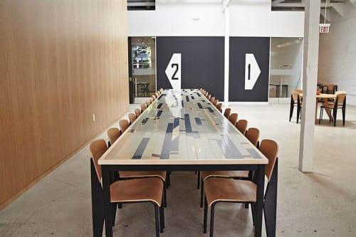 Tables by David Gaynor Design seen at General Assembly San Francisco, San Francisco - Communal Tables