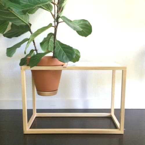 Tables by Trey Jones Studio seen at Trey Jones Studio, Washington - Side Table Planter