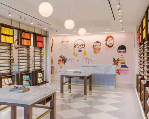 Warby Parker Raleigh, Stores, Interior Design