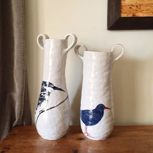 Vases & Vessels by Gemma Orkin Handmade Ceramics seen at Private Residence, Cape Town - Ceramic Pot