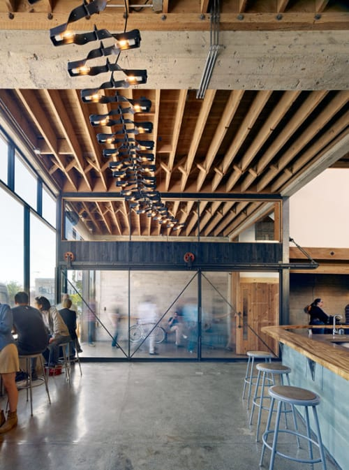 Hardware by Boor Bridges Architecture seen at Sightglass, San Francisco - Sliding Doors