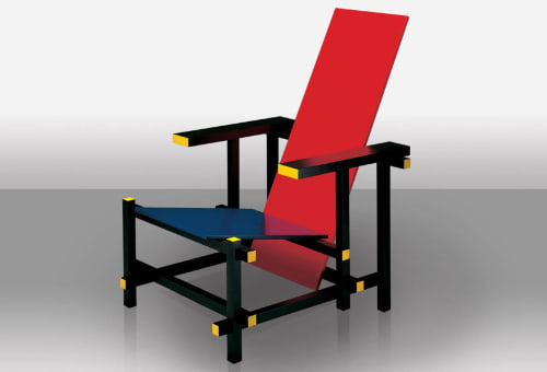 Gerrit Thomas Rietveld - Chairs and Furniture