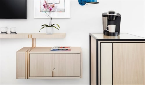 Furniture by Studio Munge at The William Vale, Brooklyn - Floating Credenza