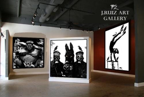 Paintings by Jesus James Ruiz Art seen at Private Residence, Orlando - James Ruiz