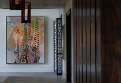 Paintings by Rex Ray seen at Rosewood Sand Hill, Menlo Park - Sticta