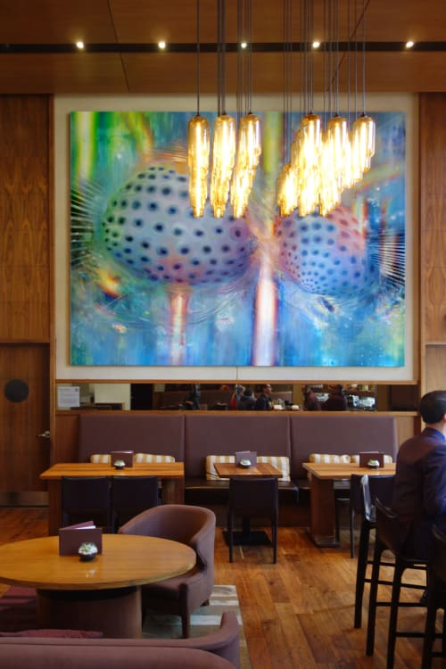 Paintings by Mario Martinez seen at Grand Hyatt San Francisco, San Francisco - The Natural Order Of All Things Chaotic And Random