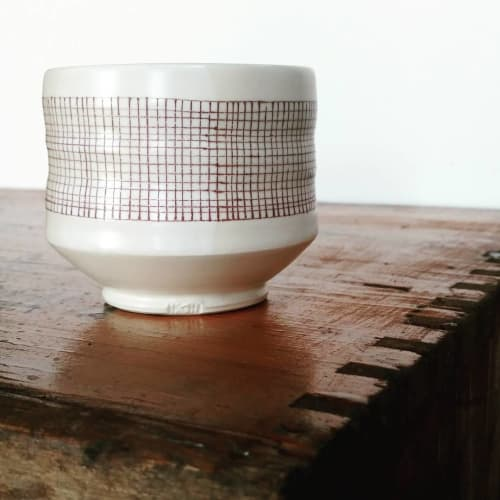 Cups by Hollow Work by Kate Hardy at Private Residence - Iron Line Tea Cup