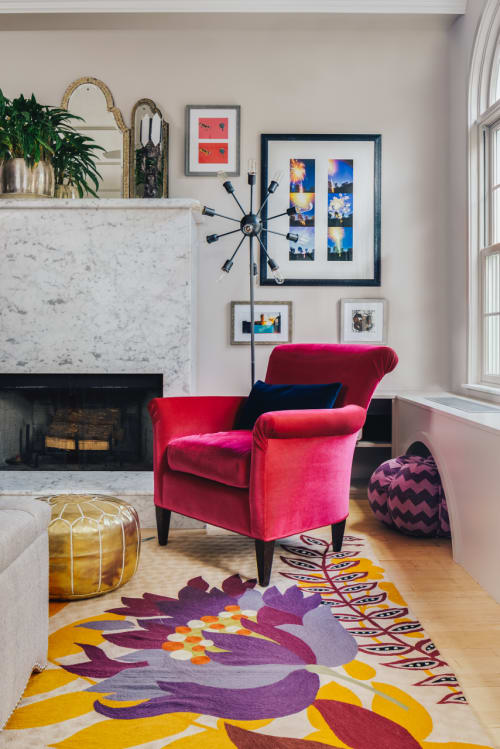 Interior Design by Samantha Gore seen at East Village Townhouse, New York - Interior Design