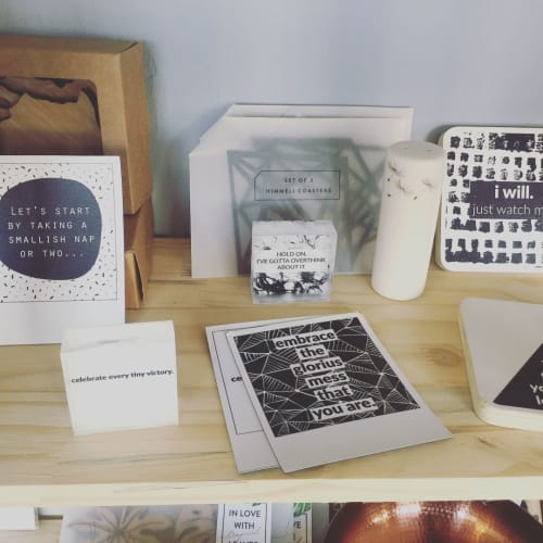 Art & Wall Decor by Photoblox seen at Ikigai Coffee Bar & Deli, Riversdale - Quirky Quotes