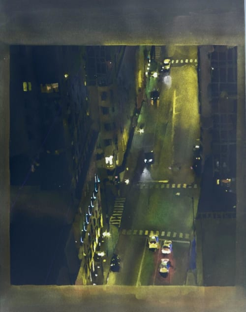 Paintings by Christopher St.Leger seen at Private Residence, Austin - Nave