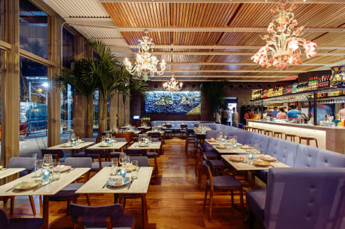 Santina, Restaurants, Interior Design