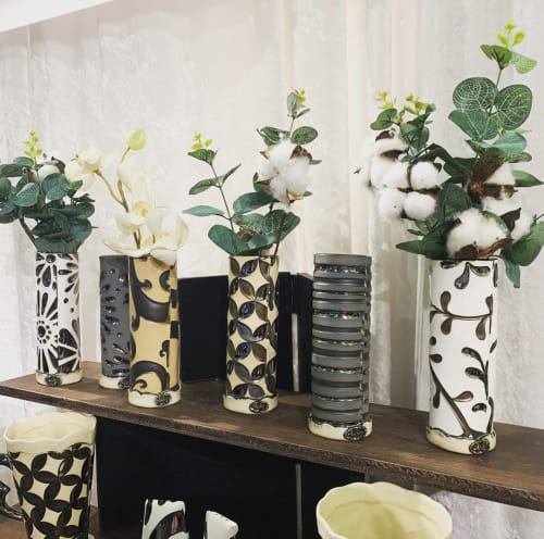 Vases & Vessels by Hailey Banda seen at Private Residence, Beltsville - Ceramic Vases