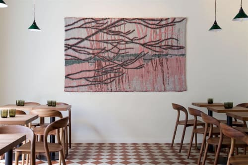 Rugs by Outi Martikainen seen at Ravintola Nolla, Helsinki - Cadence