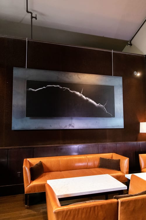 Photography by Durwood Zedd seen at Spruce, San Francisco - Crack - Black