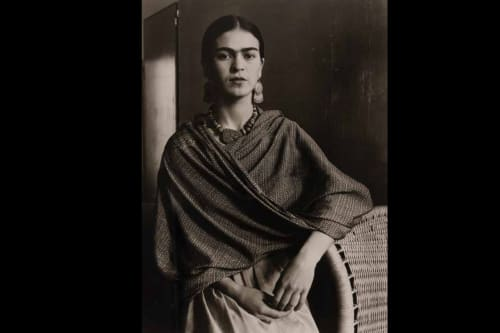 Paintings by Imogen Cunningham seen at The Surrey, New York - Frida Kahlo, Painter and Wife of Diego Rivera