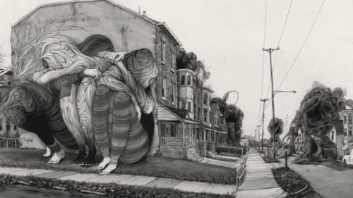 Pat Perry - Street Murals and Public Art