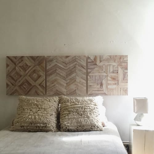 Wall Hangings by Nicole Sweeney seen at Private Residence, San Francisco - White Tile No.3