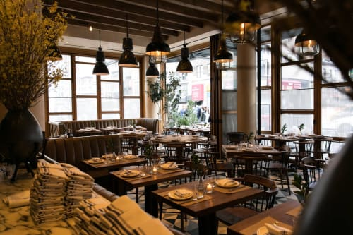 L'Amico, Restaurants, Interior Design