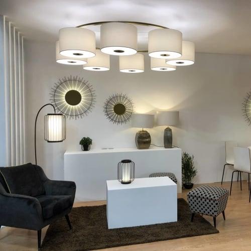 Lamps by Valditaro seen at Equip Hotel, Paris - Lamps