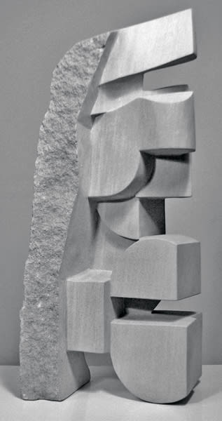 Sculptures by Jeff Metz seen at Sculpturesite Gallery, Glen Ellen - Euclidean Variation No 6