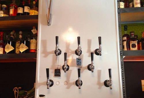 Custom Beer Tap   Tableware by Houston Hospitality   Good Times at Davey Wayne's in Los Angeles