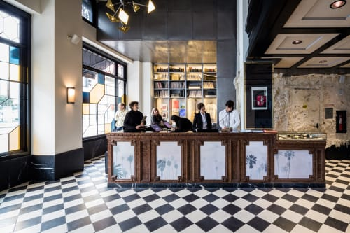 Ace Hotel LA, Hotels, Interior Design