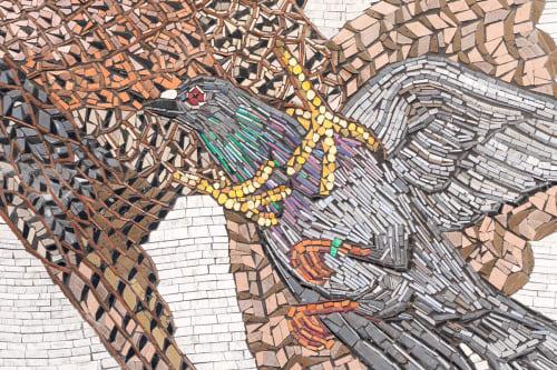 Duke Riley - Public Mosaics and Public Art