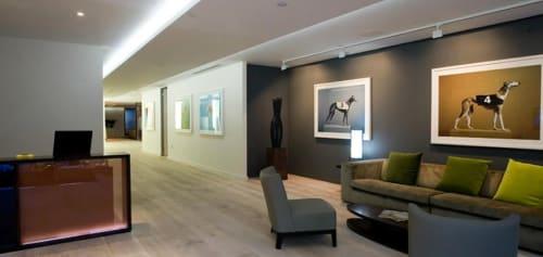 Interior Design by Blue Bottle Architects seen at Artemis Investment Management, London - Interior Design