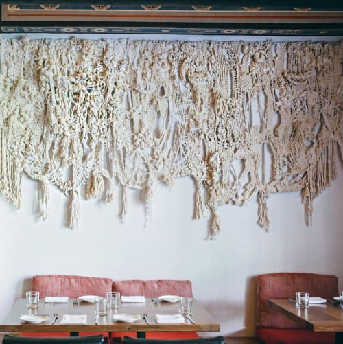 Macrame Wall Hanging by Tanya Aguiñiga seen at Redbird, Los Angeles - Cotton Rope and Twine Wall Hanging