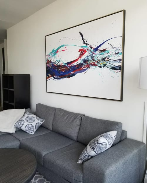 Paintings by Peter Triantos seen at Private Residence, Toronto - SP2 #58