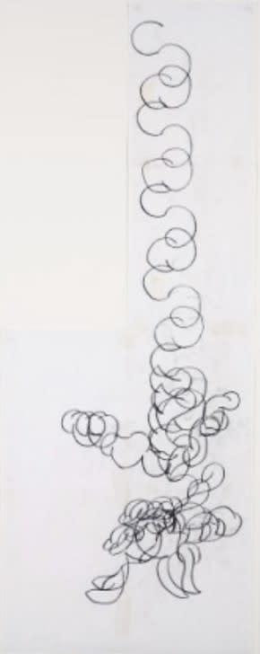 Paintings by Judy Rifka seen at Portland Art Museum, Oregon, Portland - Untitled (Reflect)
