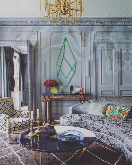 Tables by Hagit Pincovici seen at Private Residence, Paris - Custom Coffee Table