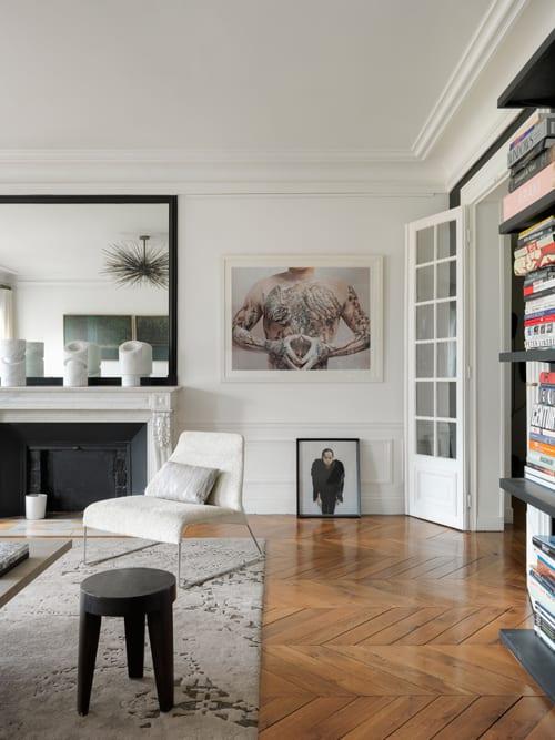 Interior Design by Emma Donnersberg Interiors seen at Paris Apartment 01, Paris - Interior Design
