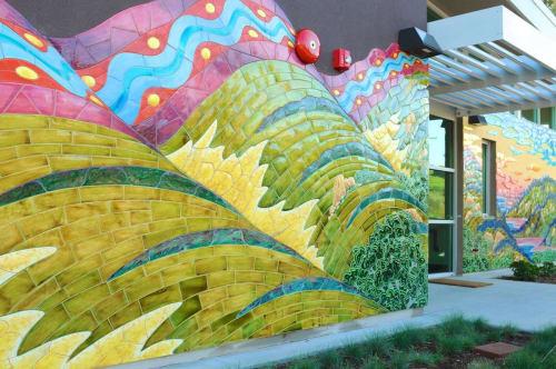 Topanga Art Tile - Public Mosaics and Public Art