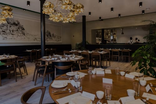 Mister Jiu's, Restaurants, Interior Design
