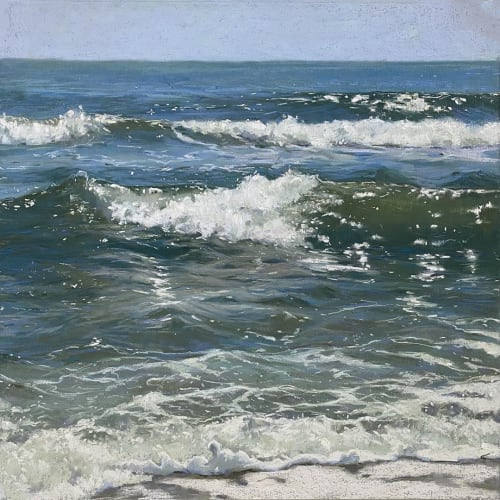 Paintings by Lisa Gleim Fine Art seen at Private Residence, Atlanta - 'Oceans Glimmer'