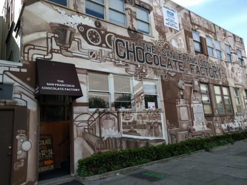 The San Francisco Chocolate Factory, Stores, Interior Design