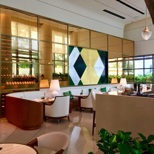 Art & Wall Decor by Londubh Studio seen at Waldorf Astoria Beverly Hills, Beverly Hills - Custom Door