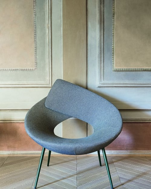 Chairs by Alessandro Busana seen at Bonaldo Studio, Villanova di Camposampiero - Lock
