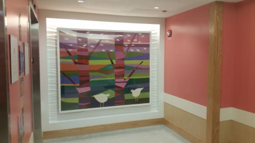 Wall Hangings by Ulrika Leander at Cincinnati Children's Hospital Medical Center, Cincinnati, OH, Cincinnati - Picnic