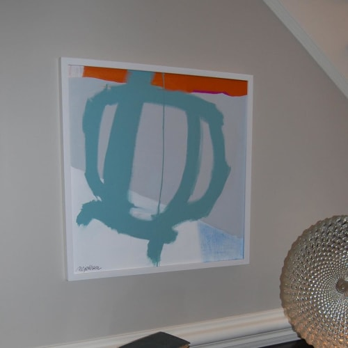 Paintings by Mary Elizabeth Peterson seen at Private Residence, Charlotte - Abstract Painting