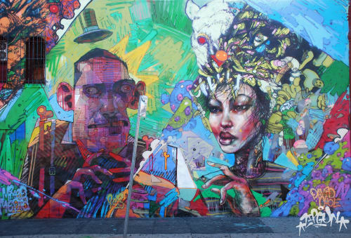 David Choe - Murals and Art