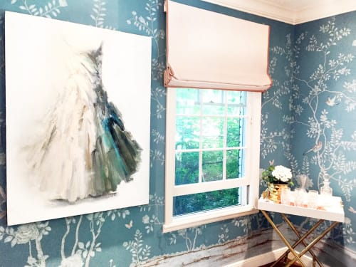 Art Curation by Caroline Scott Low at Private Residence, Hillsborough - Art Curation