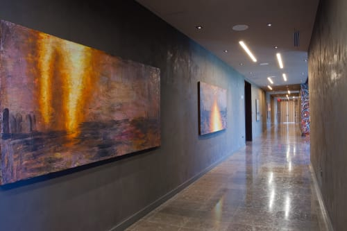 Paintings by David Aronson seen at EAST, Miami, Miami - East, Miami Artwork