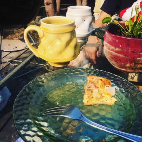 Cups by Rincones Pottery seen at Private Residence, Lakewood - Mugs