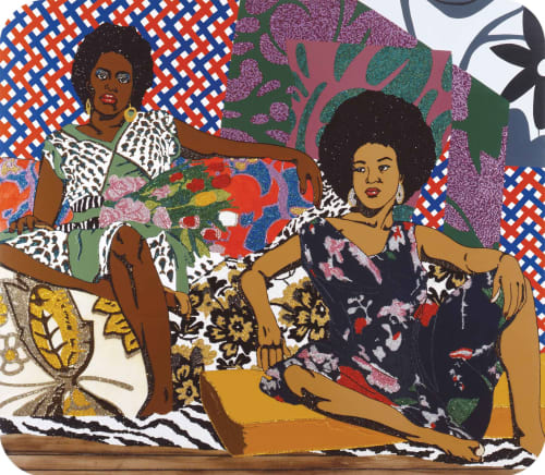 Mickalene Thomas - Paintings and Art