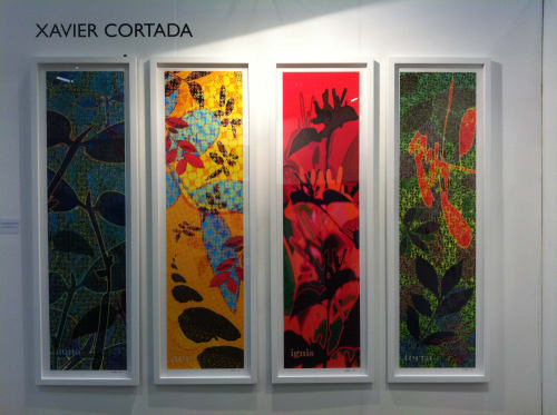 Art & Wall Decor by Xavier Cortada seen at Frost Art Museum, Miami - Four Elements at the Frost: Aer