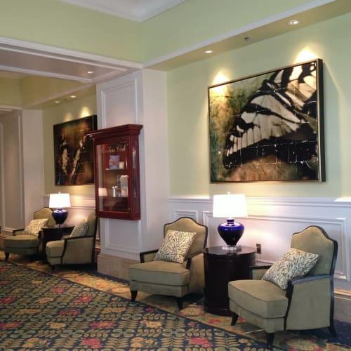 Photography by Pam Moxley Mixed Media seen at The Ritz-Carlton Orlando, Grande Lakes, Orlando - Fragmented